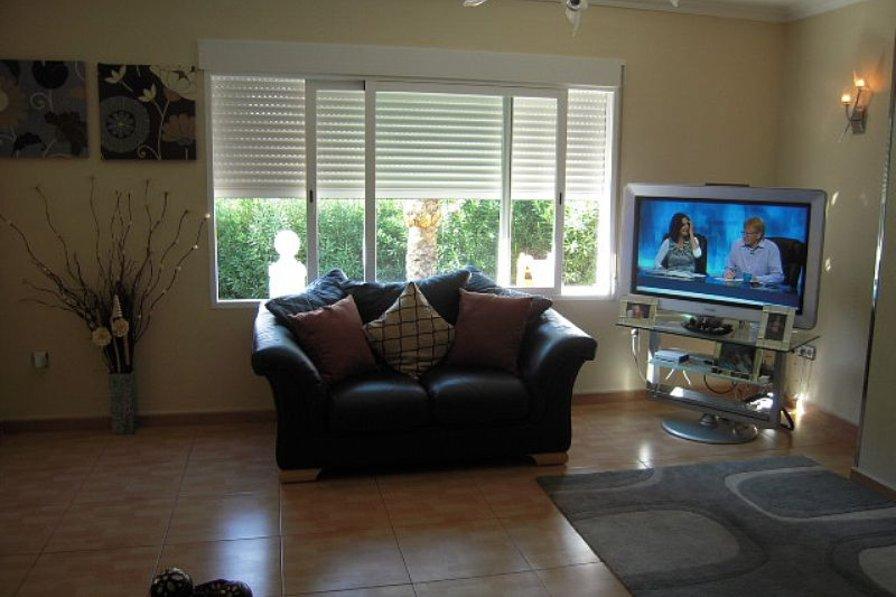 Villa in Spain, Benidorm: Living room