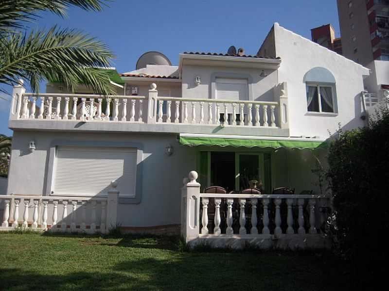 Villa in Spain, Playa de Levante: Villa View from back garden