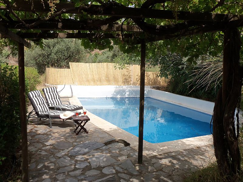 Finca in Spain, Alpujarras: Pool