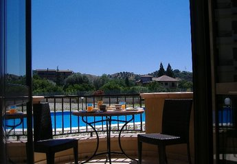 Apartment in Italy, Gioiosa Ionica: Lounge Balcony View