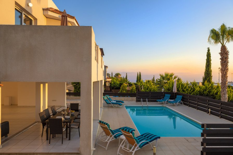 Owners abroad Villa Emelita, Large 4 Bed Villa with Private Pool in Peyia