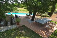 Country_house in Slovenia, Primorska: swimming pool