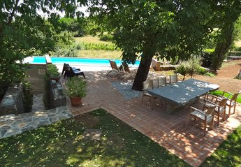 Country House in Slovenia, Primorska: swimming pool