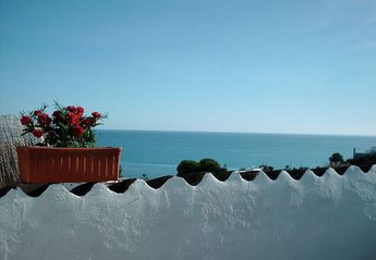 House in Spain, Nerja: View from the terrace