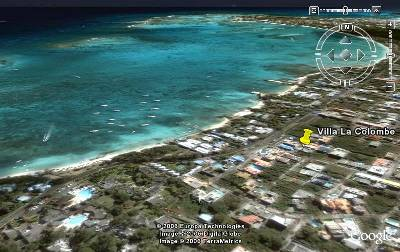 Studio apartment in Mauritius, Trou Aux Biches: Google earth