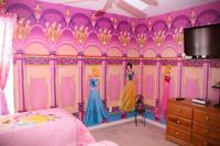 Villa in USA, Highlands Reserve Golf course: Princess themed bedroom with LCD TV