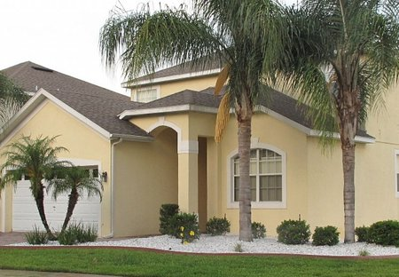 House in Highlands Reserve Golf course, Florida: FRONT OF VILLA