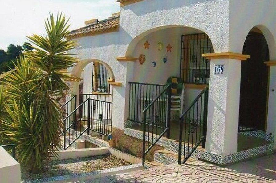 Villa in Spain, Marina-Oasis: Front of villa