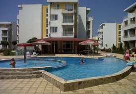 Apartment in Sunny Beach, Bulgaria: One of the 6 pools