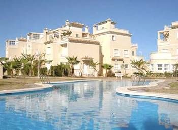 Apartment in Spain, Las Piscinas: 1 of 2 pools available for your use