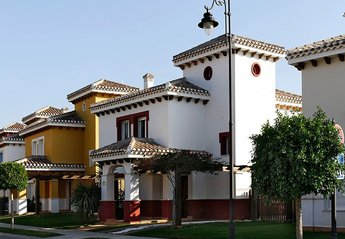 Villa in Spain, Mar Menor Golf Resort: Front of villa