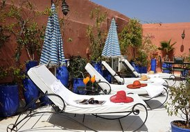 Riad in Marrakech medina - sleeps 15