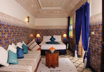 Riad in Morocco, Medina: Our beautiful Amir Suite