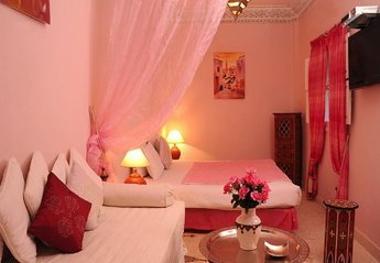 Riad in Morocco, Medina: Our beautiful Ouarda suite