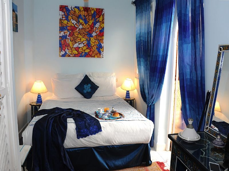Riad in Morocco, Medina: Fayrouz double bedroom