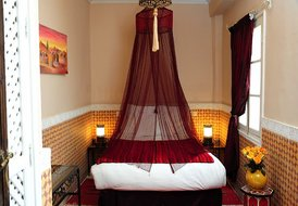 Riad in Marrakech medina - Leila double room - sleeps 2