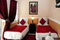 Riad in Morocco, Medina: Kaiss twin bedroom