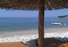 Villa in Montenegro, Ulcinj: beach Kruce 180 m from the house