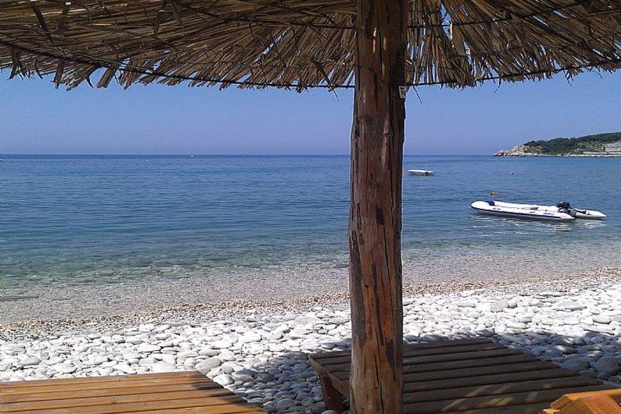 Villa in Montenegro, Ulcinj: beach Kruce 180 m from the house