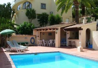 Villa in Spain, Benissa: Pool & BBQ