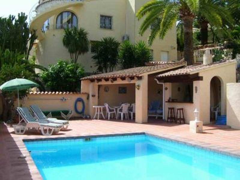 Villa in Spain, Benissa: Pool & BBQ