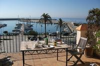 Town_house in Spain, Estepona Marina: Beautiful view over the port from main terrace