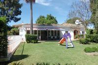 Villa in Spain, San pedro playa: Front of villa view from garden