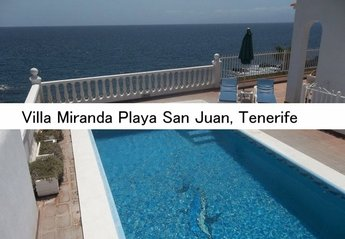Villa in Spain, Playa de San Juan: The lovely pool with stunning ocean views