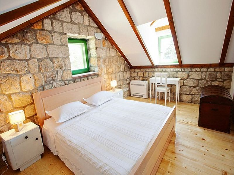 House in Croatia, Ploèe iza Grada: Bedroom