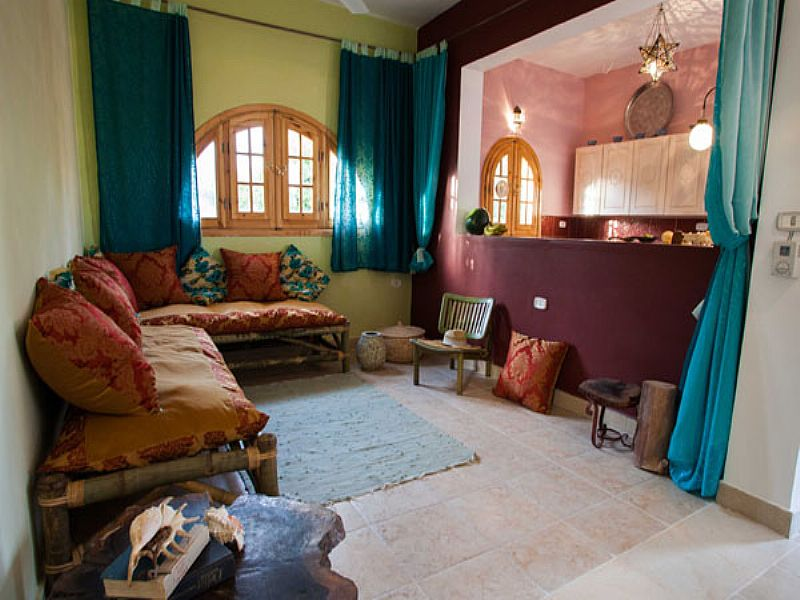 Apartment in Egypt, Dahab: Living room