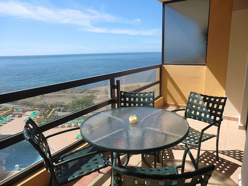 Apartment in Spain, San Miguel de Abona: Stunning sea views from the sunny balcony