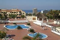 Apartment in Spain, Los Cristianos: The main pool at El Mirador has sea views