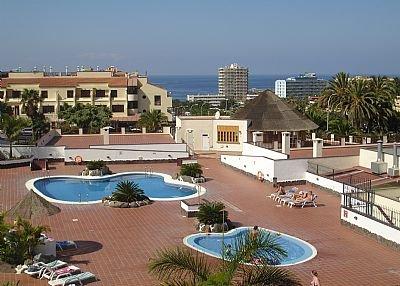 Apartment in Spain, Oasis del Sur: The main pool at El Mirador has sea views