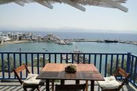 Apartment in Greece, Piso Livadi: View from the balcony