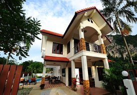 Baan Ja Id House with Private Pool in Ao Nang, Krabi