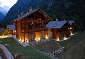 Monte Rosa -Alagna V. -Residence The Twin Stones - Apt 4 pax