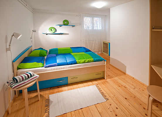 Apartment in Slovenia, Ljubljana: Bedroom