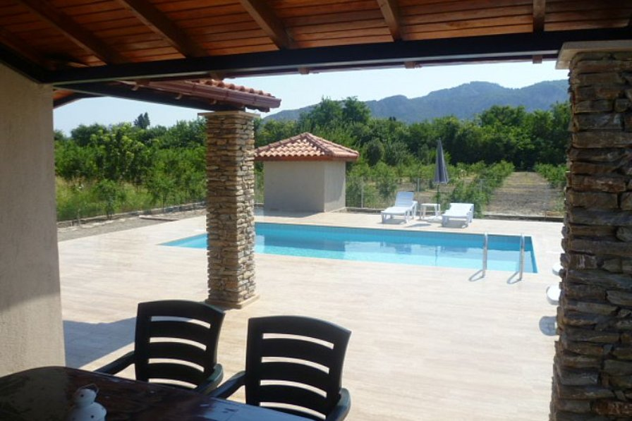 Villa in Turkey, Dalyan: Pool Terrace 3