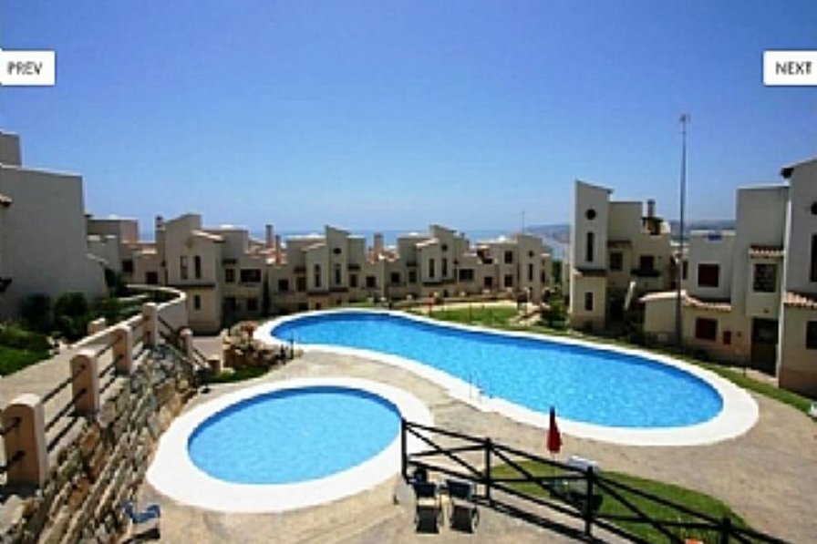 Apartment in Spain, Casares Costa: The fabulous pool area