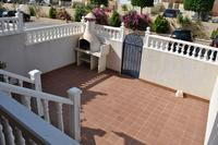 Apartment in Spain, La Cincuelica: Terrace and BBQ