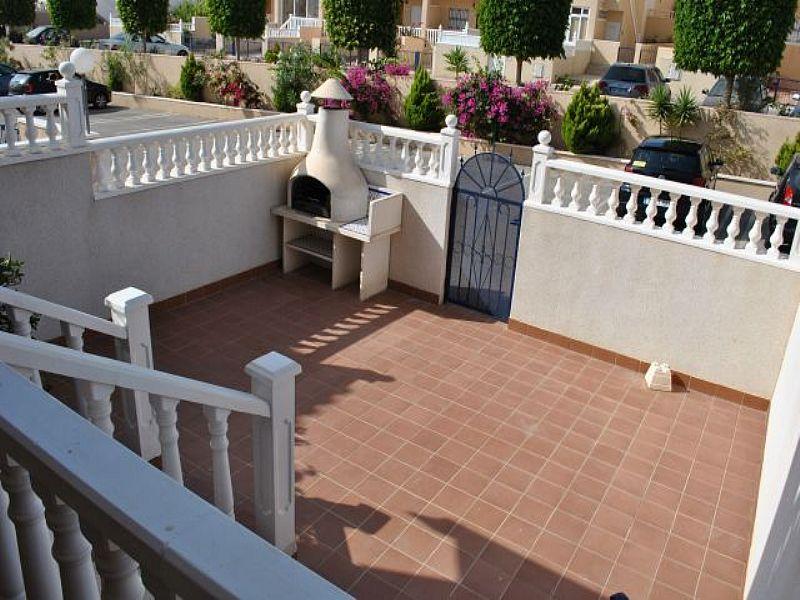 Apartment in Spain, La Cinuelica: Terrace and BBQ