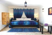Riad in Morocco, Medina: Our beautiful  Blue double bedroom