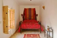 Riad in Morocco, Medina: Our elegant  Red  double bedroom