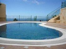 Villa in Spain, Callao Salvaje: The pool area has stunning sea front views