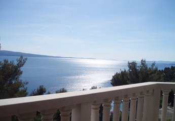 Villa in Croatia, Omis: Top Floor Balcony