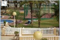 Apartment in Spain, Tomas Maestre Marina: Tennis court- Balcony view