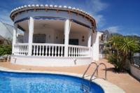 Villa in Spain, Alcaucin: Casa Estrellas Front View