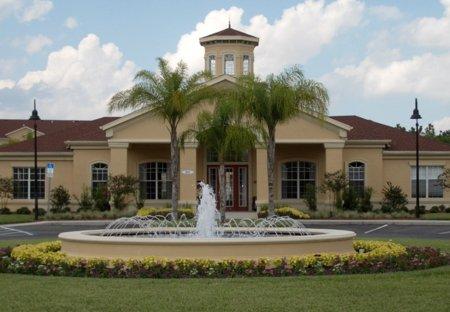 Apartment in Terrace Ridge, Florida: Beautiful water fountain at the entrance of Terrace Ridge com..