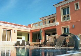 Villa in Miraflores, Spain: The fabulous pool area.