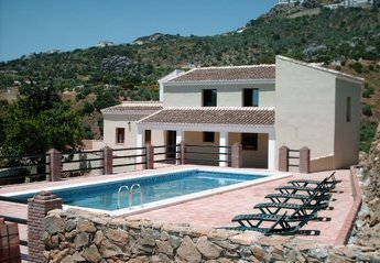 Villa in Spain, Comares: Villa and Pool